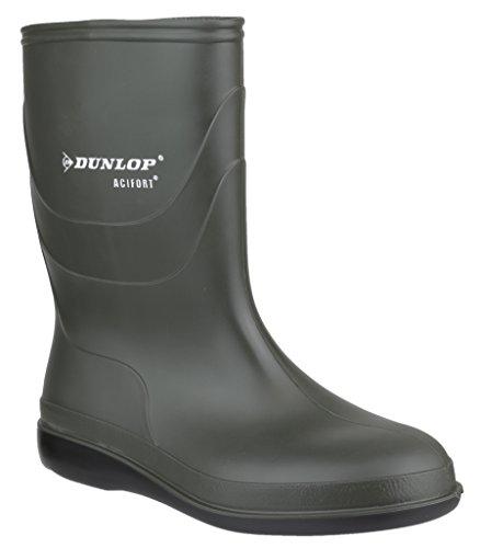 Dunlop bioseguridad B550631 adultos botas de protectores de calcetines para Unisex de goma en forma de verde