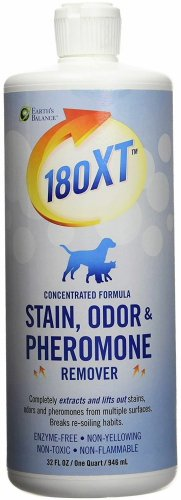 Earth's Balance 180XT Stain, Odor & Pheromone Remover for Pets, 192oz (6 x 32oz)