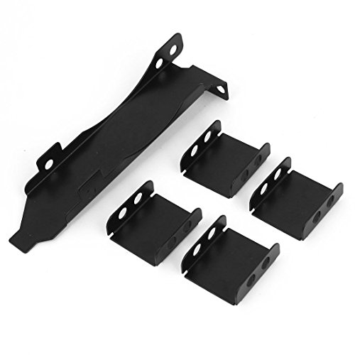 PCI Slot Bracket Three Fan Rack Mount Set for VGA Video Card Cooling