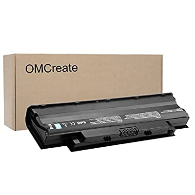 OMCreate Battery for Dell J1KND, Inspiron N5010 N5030 N5040 N5050 N7010 N7110 N4010 N4110 M5030 M5010 M5110 3520, Vostro 3450 3550 3750 - 12 Months Warranty [Li-ion 6-Cell]