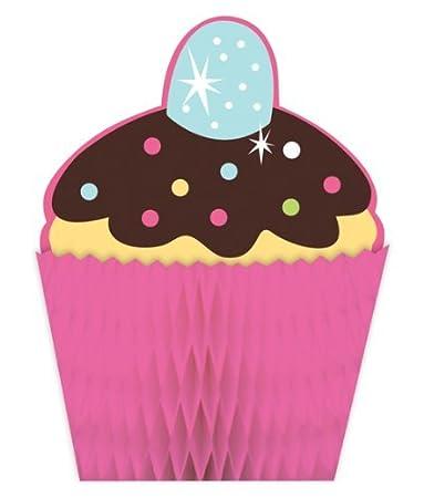 Amazon.com: Cupcake fiesta temática, panal de dulces fiesta ...
