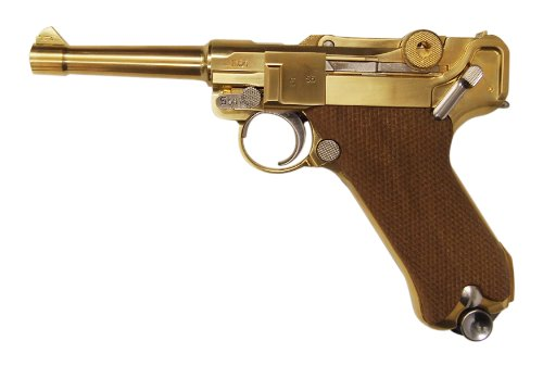 "LUGER P-08 4ƒCƒ""ƒ`PARABELLUM dummy cartridge specification ( metal model gun finished product )"