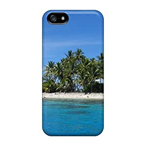 New LittleNiccy Super Strong Beautiful Blue Water Tpu Case Cover For Iphone 5/5s