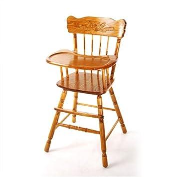 Marvelous Rochelle Nostalgia Wooden Highchair In Oak