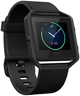 Fitbit Blaze Special Edition, Gun Metal, Large (6.7 - 8.1 inch) (US Version)
