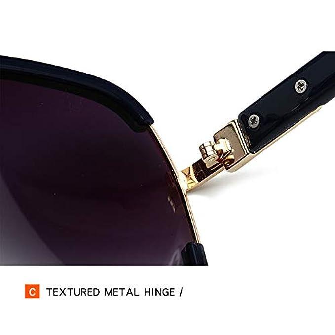 Chensheng Donna Per Retro Moda Uv Esterni Guida Da Alla Gradiente Occhiali Sole Polarizzati Uv400 Nuovi Viaggio blueblack Protezione