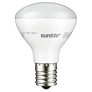 Sunlite R14/LED/N/E17/4W/D/27K LED R14 Reflector Floodlight 4W (25W Equivalent) Light Bulbs, Intermediate (E17) Base, 2700K, Warm White