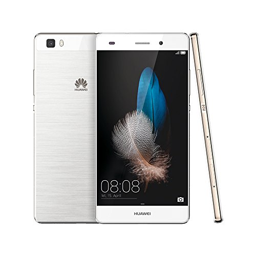 Huawei P8lite (P8 Lite) Dual SIM 16GB 5-Inch Factory Unlocked Smartphone (White) - International Stock No Warranty
