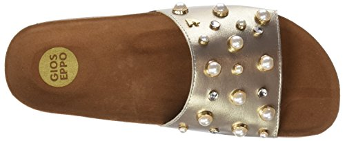 Gioseppo 44323, Sandales Bout Ouvert Femme Or (Oro)