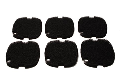 (LTWHOME Replacement Bio-Foam Filter Pads Fit for Marineland C-160 & C-220 Canister Filter (Pack of 6))