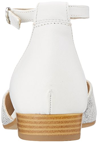 Cheville Tamaris Bride 24227 white Femme Sandales met silv Argent t4PB4wfq