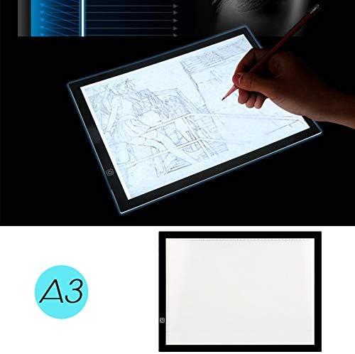 Pantalla Luz Dibujo A3 LED Mesa de Luz Caja de Luz con Tres Modos ...