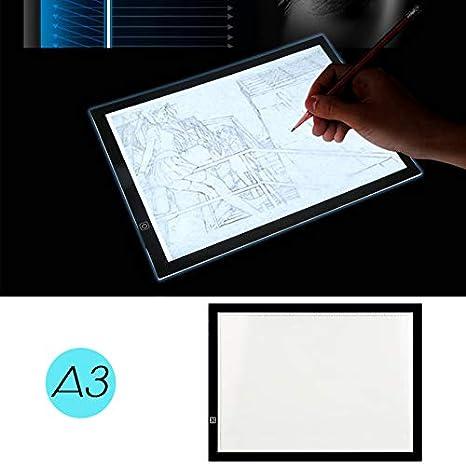Pantalla Luz Dibujo A3 LED Mesa de Luz Caja de Luz con Tres ...