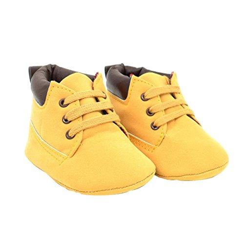 Jamicy® Baby Kleinkind Mode weiche Sohle Leder Boy Girl Krippe Schuhe
