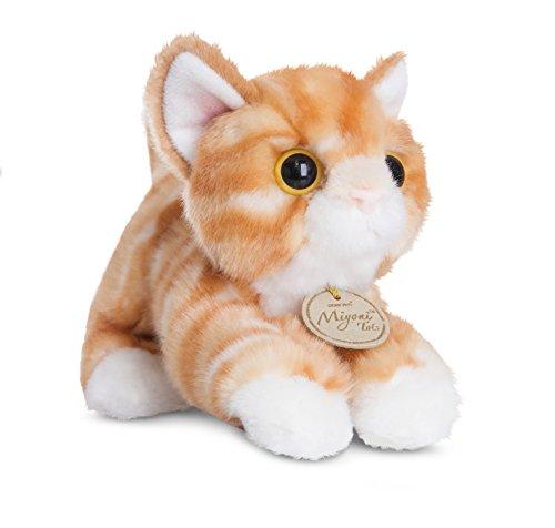 Aurora World 60467 MiYoni Tots Tabby Cat Plush Toy (Orange)