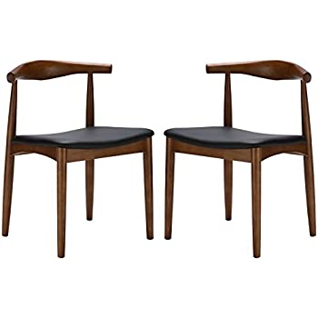 Poly And Bark Wegner Style Elbow Chair (Set Of 2), Walnut
