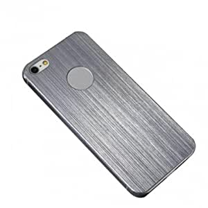 Ultrathin Brushed Aluminum Metal Case Cover For iPhone5 --- Color:Black
