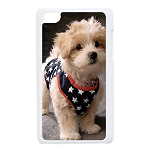 C-Y-F- Small brown dog Phone Case For Ipod Touch 4 [Pattern-6]