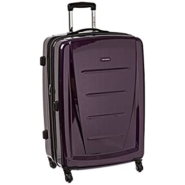 Samsonite Winfield 2 Fashion Hardside 28 Spinner, Purple, One Size