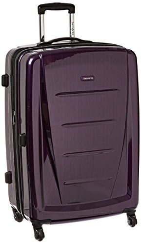 (Samsonite Checked-Large, Purple)