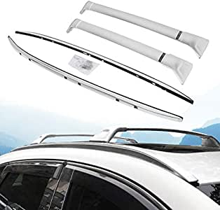 Bestauto Roof Rack Rails 2017-2018 Baggage Roof Rack Rails Cross Bar Rails for Mazda CX5 CX-5 2017-2018