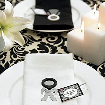 Amazon.com: Bridal Shower Favors - His and Hers Photo Frame Magnet ...
