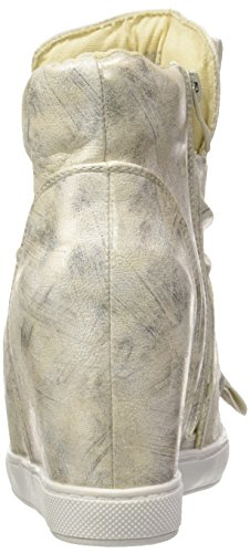 Da 9 Scarpe Zeppe Oro Moda Cm Donna Cuneo Lucido Angkorly Archi Ginnastica Ew1xzqX