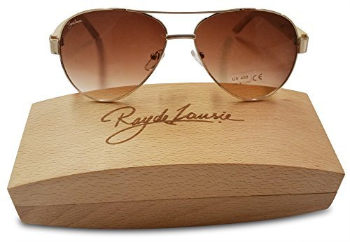 Polarized Aviator Styled Bamboo Wood Sunglasses Ray De - Warby Sunglasses Parker Polarized