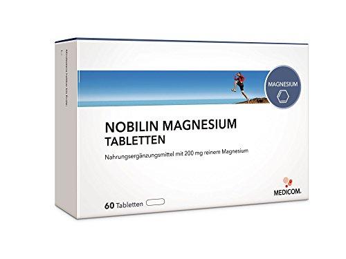NOBILIN MAGNESIUM Tabletten 200 mg, Brausetabletten 200 mg oder Sticks 400 mg für Muskel-Funktion, Elektrytausgleich & Energiesstoffwechsel beim Sport