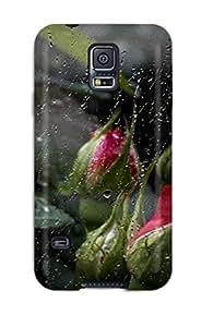 High Grade TashaEliseSawyer Flexible Tpu Case For Galaxy S5 - Rose