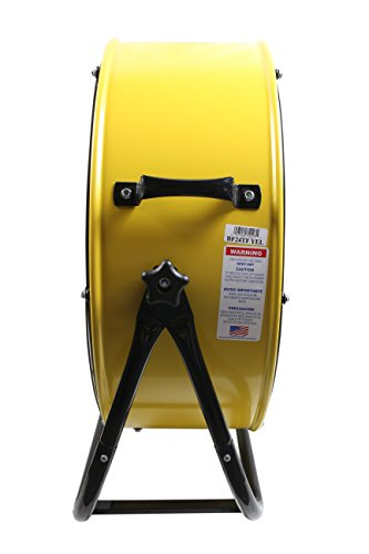 MaxxAir Velocity Movement Two Speed Portable Yellow