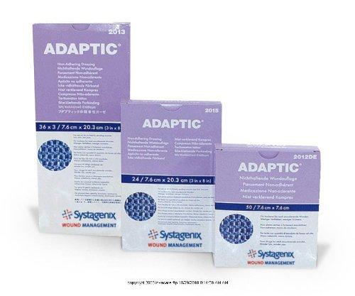 ADAPTIC Non-adhering Dressing, Adaptic Drs Non-Adh Strl 3 x 8 - Box of 24 ()