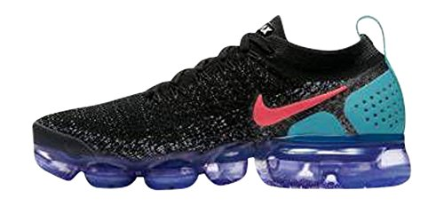 W whit Hot Air 2 Fitness Scarpe Vapormax 003 Flyknit da Multicolore Donna NIKE Punch Black Fxpwdqanp