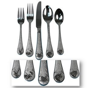 20pc Wilderness Outdoors Flatware Set
