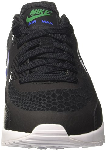 Air Max 90 Ultra 2.0, Zapatillas de Gimnasia para Mujer, Negro (Black/Paramount Blue/White/Stadium Green), 39 EU Nike