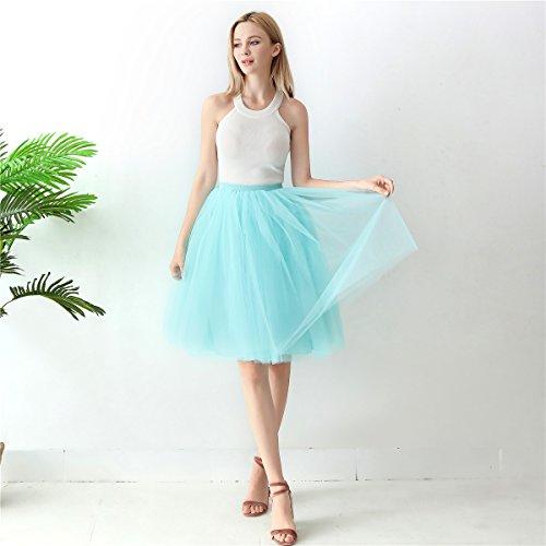 Fte Ligne Tulle Party Dress Femmes Bal De Demoiselles Robe Jupon Paradise Mollet 60 CM Tutu Vintage Island Balle ShowYeu Mi A de qwvCfZEw