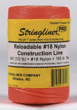 Stringliner Line Refill Shrinkwrapped Orange by Stringliner Company