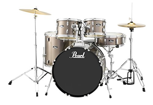 Pearl Drum Set, Bronze Metallic, 5 piece (RS525SC/C707)