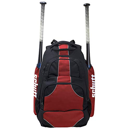 (Schutt Sports 1284280603 Bat Pack Travel Team Large Plus Large Team Travel Bat Pack for Baseball & Softball)
