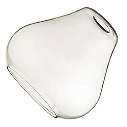 Westinghouse 8102100 Glass Open Teardrop Shade, Clear