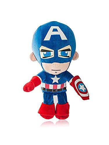 Dimpy Stuff Superhero Captain America Stuffed Soft Plush Big Toy for Kids, Boys  amp; Girls   30 cm