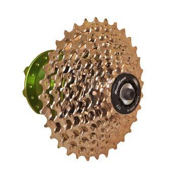 (Bike & Bicycle Bike Parts & Components - Bike Bicycle 9-Speed Nickel Plated Flywheel Accessories - 1 x Bicycle flywheel)