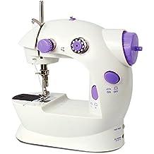Imax FHSM-202 Mini 2-Speed Sewing Machine With Foot Pedal, Purple, 9.2 x 8.4 x 5.4-Inch