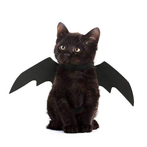 TizzyPet Halloween Bat Wings Pet Cosplay Costume Accessories for Dogs & -
