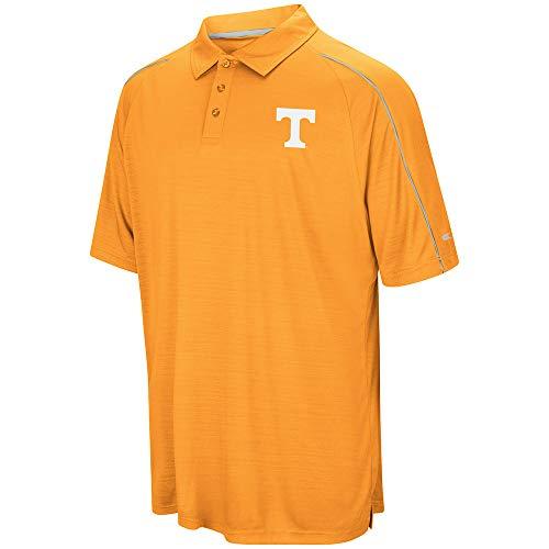 - Colosseum NCAA Men's Setter Short Sleeve Coach's Polo Shirt, Large University Tennessee Volunteers