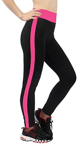 4how® Corsaire Multicolore 4 Legging Leggings Femme Fushia 3 Sport wAxqRwgIr