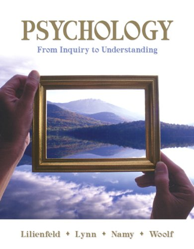 Psychology: From Inquiry to Understanding (paperbound)