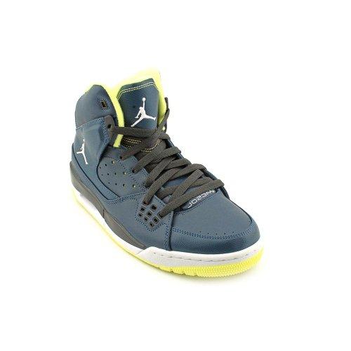 Nike Air Jordan Sc-1 Mens Basketskor 538.698-435 435-sqdrnbl / Vit-night Stdm-elctr