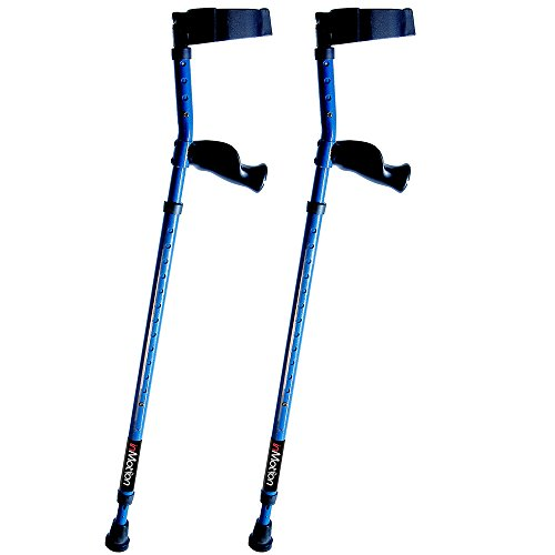 In-Motion Forearm Crutches with Spring Assist | Size Tall (4