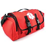 LINE2design EMS First Aid Bag-Paramedic, EMT Economical Red